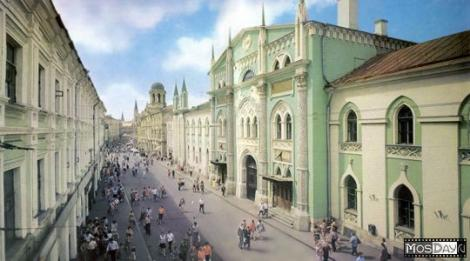Вид на ул. Никольская. Фото с сайта mosday.ru