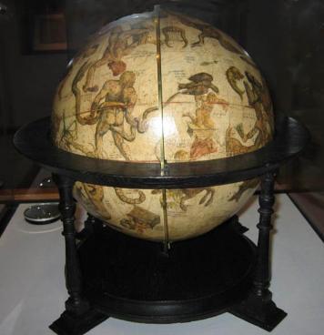 Глобус звезд Меркатора